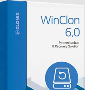 WinClon 윈클론 시스템 백업 복원