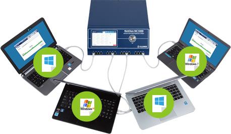 디스크복제기 디스크복사기, 각 포트별로 다른 이미지 파일 복제